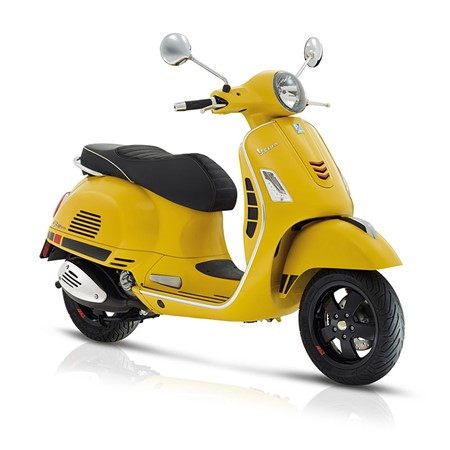 Vespa GTS Supersport 300 ABS E4 Gul