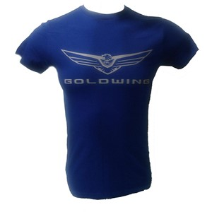 Men's Gold Wing Tee - Royal Blue
