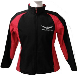Ladies Gold Wing Soft Shell Jacket - Red/Black
