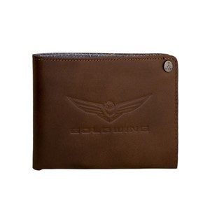 Gold Wing Wallet - Brown