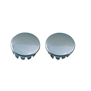 Chrome Steel Trim Plugs