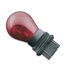 Colored Turn Signal Bulb, Red - Replaces 3157 (ea)
