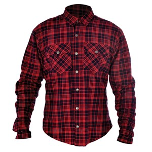 Oxford Kickback shirt Red & Black