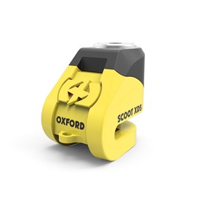 Scoot XD5 Disc Lock Yellow/Black